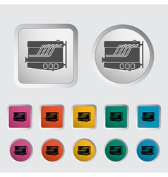 Engine icon vector