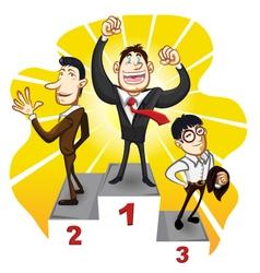 Business Podium vector image