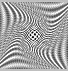 abstract twist black dot vector image