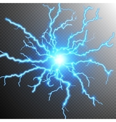 Abstract lightning storm background EPS 10 vector image vector image