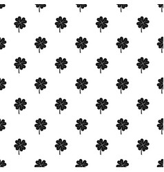 Clover leaf pattern vector