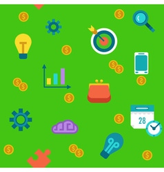 Endless startup and progress background vector