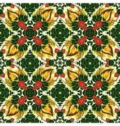 Mosaic background ceramic tiles majolica vector