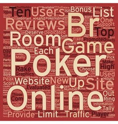 Online poker reviews 1 text background wordcloud vector