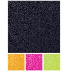ornamental design backgrounds vector image vector image