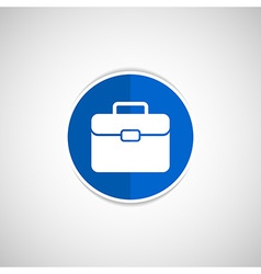 suitcase icon icon travel business sign symbol vector image