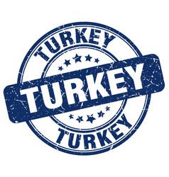 Turkey stamp vector
