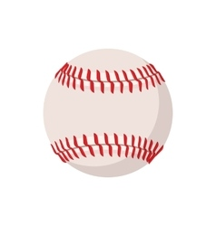 Baseball cartoon icon vector