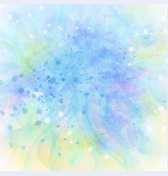 Abstract colorful grunge blue-green background vector