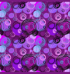 Geometric abstract circles background vector