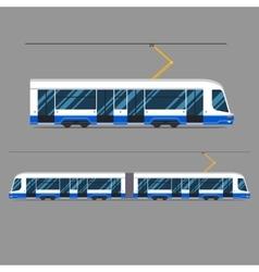 set mass rapid transit urban vehicles vector image vector image