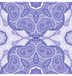 Violet lace seamless pattern vector
