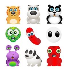 animal creatures vector image