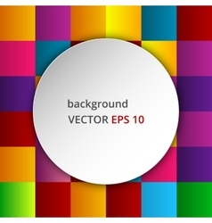 a colored background vector image