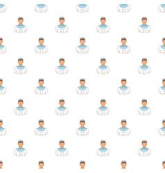 Sailor pattern cartoon style vector