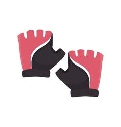 Gloves sport equipment vector