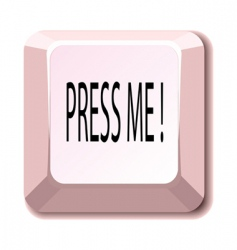 press me vector image