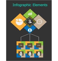 Business concept - infographic vector