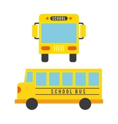 Bus concept isolated design vector
