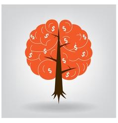 Brain tree vector