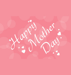 Happy mother day style card collection vector