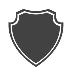 Shield protection insignia security medieval vector