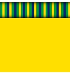Abstract patterns of color flag of brazil vector