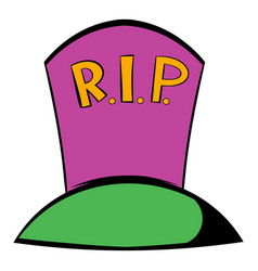 Grave icon icon cartoon vector
