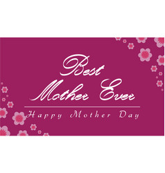Mother day celebrate style collection vector