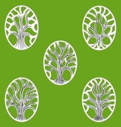 Gree tree of life icon vector
