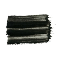 Black Painted Background vector image vector image