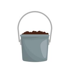 Bucket icon image vector
