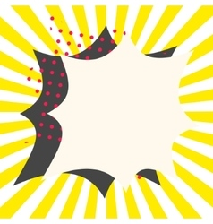 Comic book effects vector
