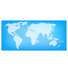 dot of world map2 vector image