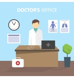 Workplace doctor vector
