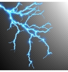 Abstract lightning storm background eps 10 vector