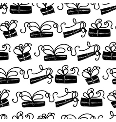 Seamless pattern for printing on gift packaging vector
