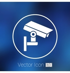 Camera cctv icon sign graphic theft wireless vector