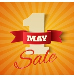 May 1st sale vector