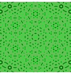Creative ornamental green pattern vector