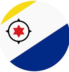 Bonaire flag vector image vector image