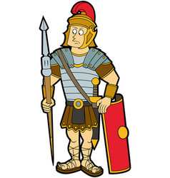 Roman legionary vector