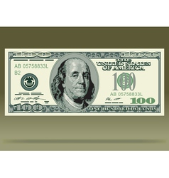 Dollar bank note vector