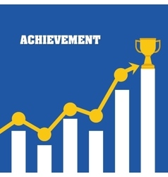 Achievement design success icon colorful design vector