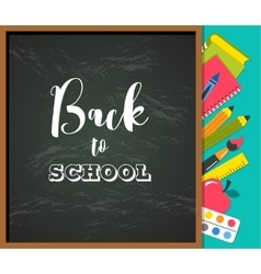 Back to school - education creativity and science vector