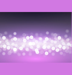 abstract bokeh lights on lilac vector image vector image