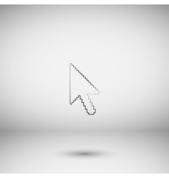 arrow cursor icon vector image