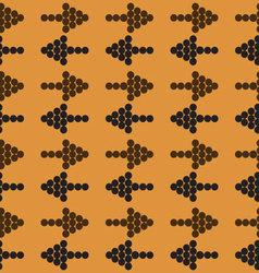 arrows in the color retro style vector image vector image