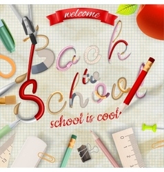 Back to school background eps 1 vector