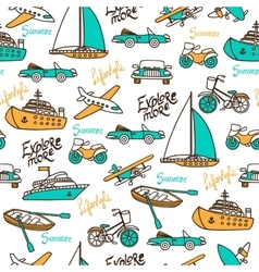 Seamless pattern with different transport vector